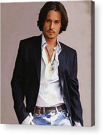 Johnny Depp Acrylic Prints