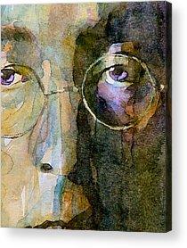 John Lennon Acrylic Prints