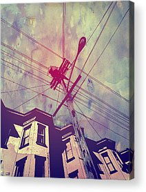 Architecture Drawings Acrylic Prints