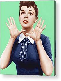 1950s Portraits Acrylic Prints