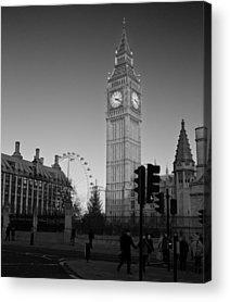 London Eye Acrylic Prints