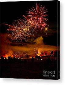 Fireworks Show Acrylic Prints