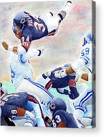 Football Acrylic Prints