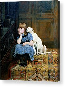 Consoling Paintings Acrylic Prints