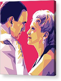 Evita Digital Art Acrylic Prints