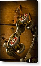 Antique Skates Acrylic Prints