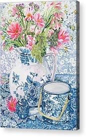 African Daisy Acrylic Prints