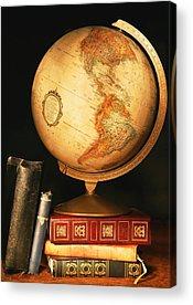 World Schooling Acrylic Prints