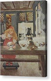 Porridge Bowl Acrylic Prints
