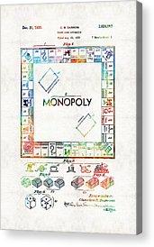 Monopoly Acrylic Prints