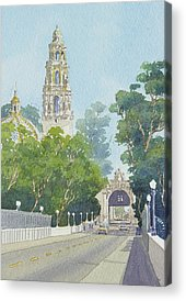 Panama Paintings Acrylic Prints