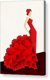 Dresses Acrylic Prints