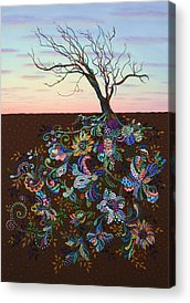 Family Tree Acrylic Prints