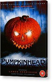 Pumpkinhead Acrylic Prints