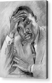 Martin Luther King Acrylic Prints