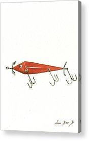 Fishing Acrylic Prints
