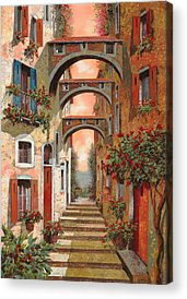 Streets Paintings Acrylic Prints