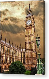 Tower Of London Acrylic Prints