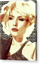 Debbie Harry Acrylic Prints