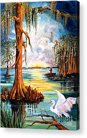Bald Cypress Acrylic Prints