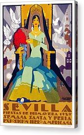 Semana Santa Acrylic Prints