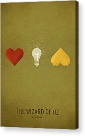 Wizard Digital Art Acrylic Prints