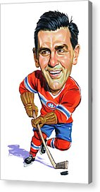 Canadiens Paintings Acrylic Prints