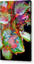Still Life With Fish Digital Art Acrylic Prints