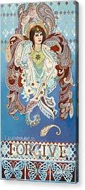 Seraphim Angel Mixed Media Acrylic Prints