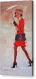 Dress Paintings Acrylic Prints