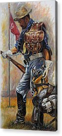 Soldier Acrylic Prints