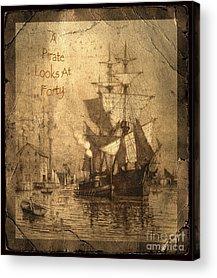 Historic Schooner Photographs Acrylic Prints