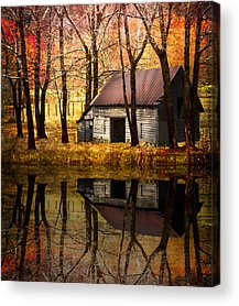 Barn In Tennessee Acrylic Prints