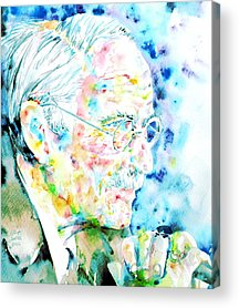 Carl Gustav Jung Acrylic Prints