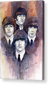 The Beatles Paul Mccartney Acrylic Prints