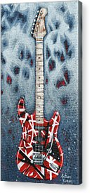 Music Van Halen Rock And Roll Acrylic Prints