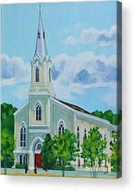 Fredericksburg Baptist Church Acrylic Prints