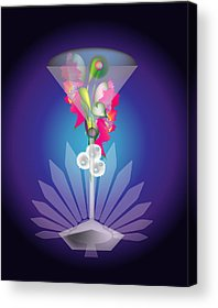 Designs Similar to Martini Flower by George Pasini