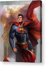 Hero Acrylic Prints