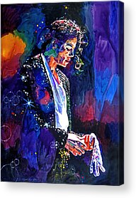 Music Pop King Of Pop Acrylic Prints
