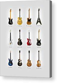 Rock N Roll Paul Mccartney Acrylic Prints