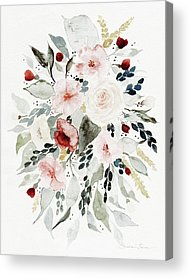 Loose Watercolor Acrylic Prints