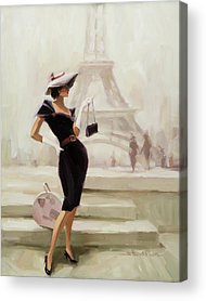 Fashion Illustration Acrylic Prints