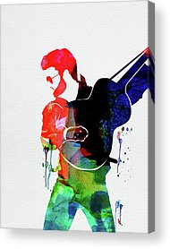 Music Singer George Michael Acrylic Prints