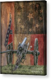 Artillery Digital Art Acrylic Prints