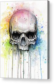 Skeleton Acrylic Prints
