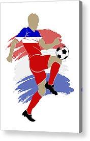 Soccer Stadium Acrylic Prints