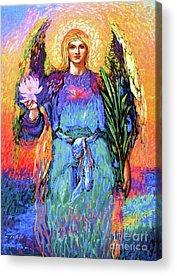 Angel Blues Acrylic Prints
