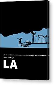Los Angeles Acrylic Prints