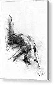 Figures Drawings Acrylic Prints